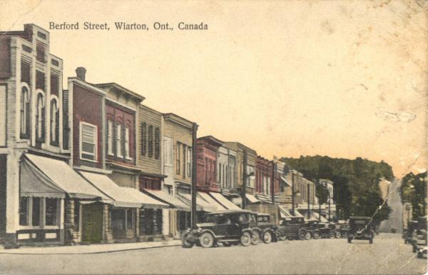 King Versus California King >> Postcards From the Bay - History of Wiarton and Colpoy's Bay, Ontario